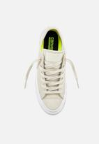 9cf667ee6ffc Chuck Taylor All Star II Craft Leather- 555956C-Buff White Converse ...