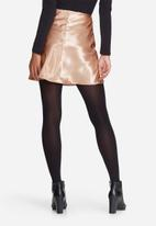 dailyfriday - Satin mini skirt