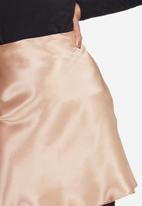 dailyfriday - Satin mini skirt