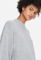 dailyfriday - Oversized trumpet sleeve knit