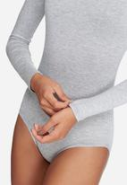 dailyfriday - Long sleeve turtleneck bodysuit