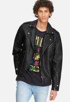 Jack & Jones - JORNew Pistol punk jacket - Black