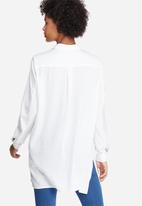 dailyfriday - Silky longer length shirt