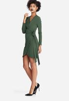 dailyfriday - Wrap mini dress