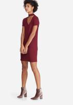 dailyfriday - Choker detail dress