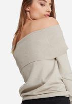 ONLY - Kara off-shoulder knit
