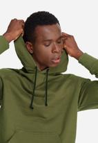 0c7e0aa9b Basic pullover hoodie sweat- olive green basicthread Hoodies ...