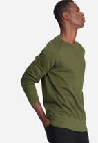 basicthread - Basic pullover crew sweat