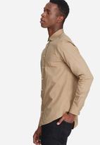 basicthread - Slim fit Poplin shirt