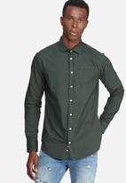 basicthread - Slim fit Poplin shirt