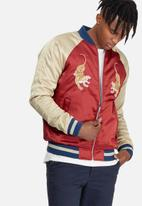 Jack & Jones - Satin Reversible Bomber Jacket