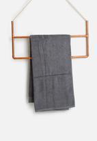 Sixth Floor - Grey bath sheet