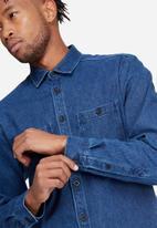 basicthread - Denim overshirt