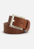 G-Star RAW - Duko leather belt