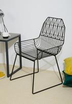 Sixth Floor - Parth wire chair