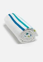 Sixth Floor - Multi stripe bath towel