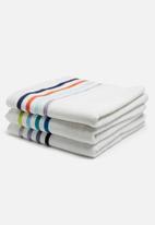 Sixth Floor - Multi stripe bath towel