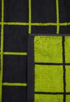 Sixth Floor - Grid bath towel