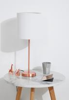 Sixth Floor - Upright table lamp set - copper
