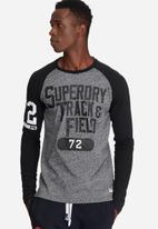 Superdry. - Trackster baseball tee