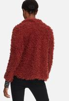 Vero Moda - Jayla short faux fur jacket