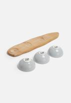 Love Milo - Grey snack bowl set
