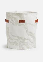 Love Milo - Mineral laundry basket