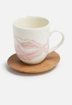 Love Milo - Mineral mug with saucer