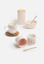 Love Milo - Mineral mug with saucer