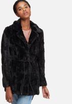 Vero Moda - Ellen faux fur jacket