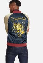 Jack & Jones - Satin reversible bomber jacket