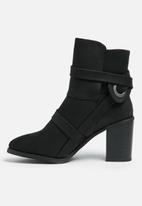 Missguided - Shield strap boot