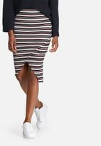 Vero Moda - Tammi rib skirt