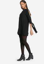 dailyfriday - Shift dress with sleeve tie