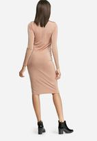 dailyfriday - Slinky polo neck dress