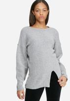 dailyfriday - Split front knit
