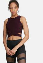 Missguided - Cut out side yoga top