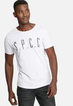 S.P.C.C. - Printed scoop tee
