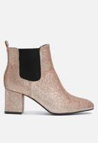 dailyfriday - Glitter heeled chelsea boot