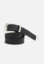 dailyfriday - Leather tipped belt