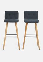 Sixth Floor - Frida barstool set of 2