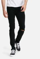 Only & Sons - Warp skinny fit knee rip