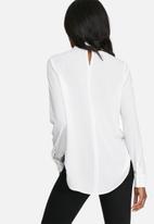 dailyfriday - Long sleeve choker blouse