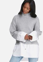 dailyfriday - Knitwear shirt combo