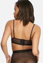 Glamorous - Underwire longline lace bralette