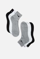 Nike - Cushion 3 pack socks