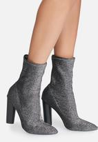 dailyfriday - Glitter sock boot