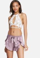 Glamorous - Silky sleep shorts