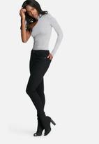 dailyfriday - One shoulder choker bodysuit