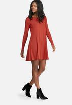 dailyfriday - Round neck swing dress